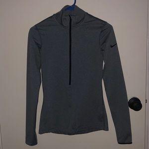 Nike Pro 1/2 Zip Long Sleeve Top